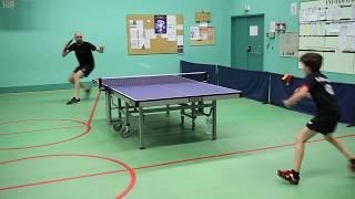 Tennis de table Entrainement Roman 1937 -  Sylvain 2063 Sainte Marie aux Chênes