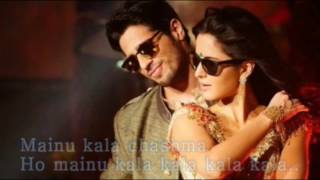 Lyrics song  Kala Chashma Full Song   Baar Baar Dekho 2016   Sidharth Malhotra