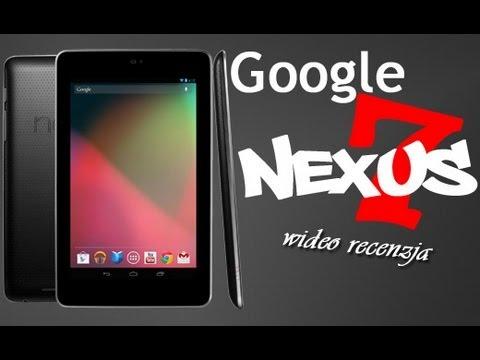 Google Nexus 7 3G - Wideo recenzja na FrazPC.pl