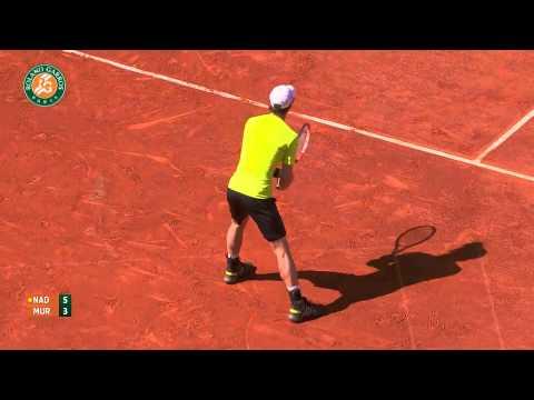 Roland Garros 2014 Friday2 Highlights Nadal Murray
