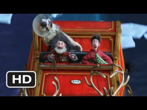 Arthur Christmas #5 Movie CLIP - A Night Sleigh Ride (2011) HD