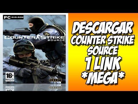 Como Descargar e Instalar Counter Strike Source 2015 - 2016  Español 1 Link full MEGA español