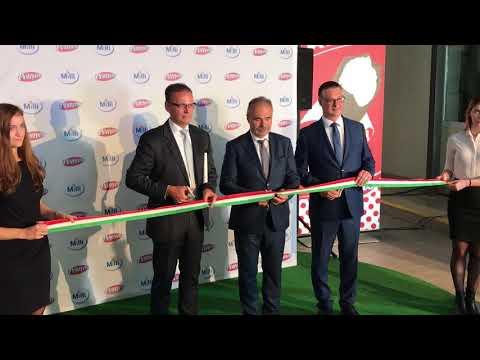 Opening production lines FrieslandCampina Hungária in Mátészalka