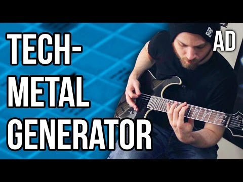 Pete Cottrell - Technical Metal Generator - Song 2