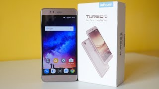 InFocus Turbo 5 Unboxing & quick Initial Impressions! 5000mAh Battery!