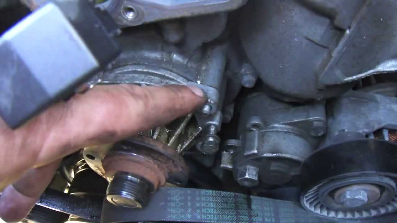 Diy Bmw E46 How To Change Water Pump And Thermostat Youtube