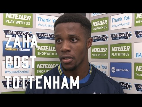 Wilfried Zaha Post Tottenham Interview