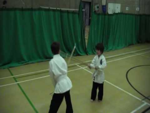 Tang Soo Do Sword training Image 1