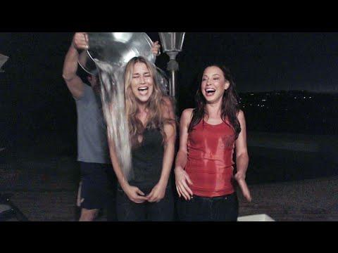ALS Ice Bucket Challenge - Fantasy Football Girls, Danee & Talia