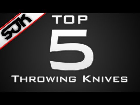 MW3 Top 5 Throwing Knives of the Week - Week 34