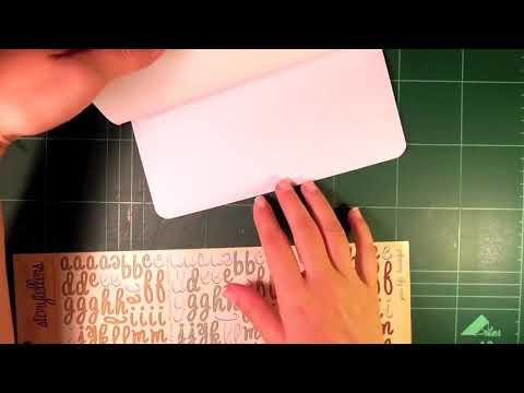 Tutorial: Cuaderno básico (scrapbooking)
