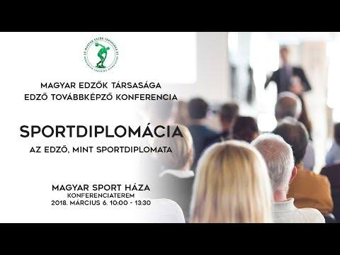 Magyar Edzők Társasága | Sportdiplomácia | 2018. március 6. | LIVE STREAM