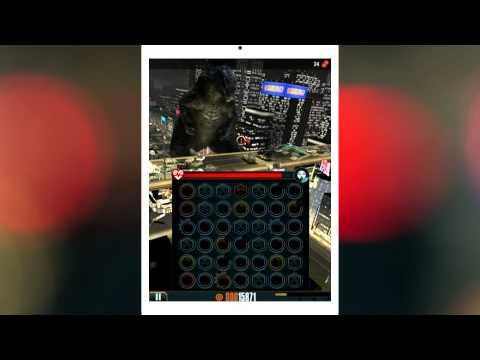 Godzilla - Smash3 геймплей (gameplay) HD качество