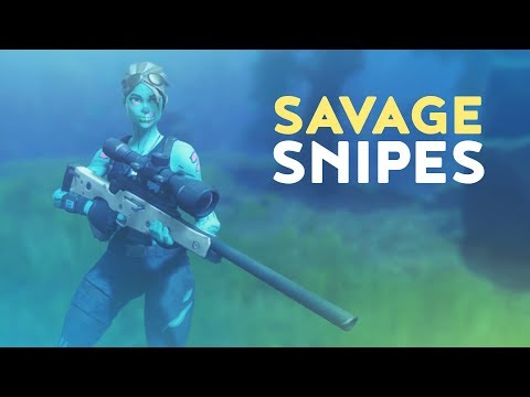 SAVAGE SNIPES (Fortnite Battle Royale)