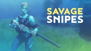 SAVAGE SNIPES (Fortnite Battle Royale)