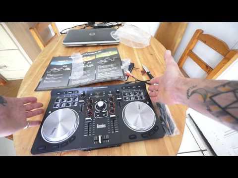 HERCULES UNIVERSAL DJ CONTROLLER VIDEO 1 BY ELLASKINS THE DJ TUTOR