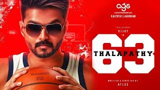 Thalapathy 63 First Look Release Date? Thalapathy Vijay