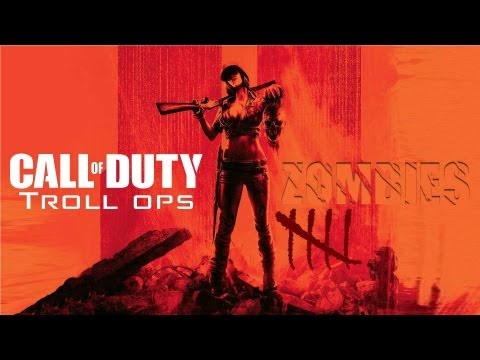 Troll Ops Zombies | New Year Sex Part 2 (girl Trolling On Black Ops 2) video