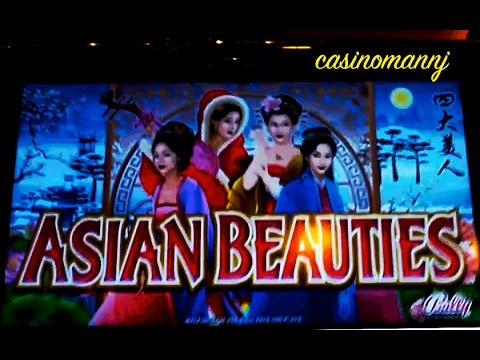 Asian Beauties - Max Bet! - Slot Machine Bonus video