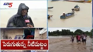 Heavy Inflow To Dowleswaram Barrage In Rajahmundry