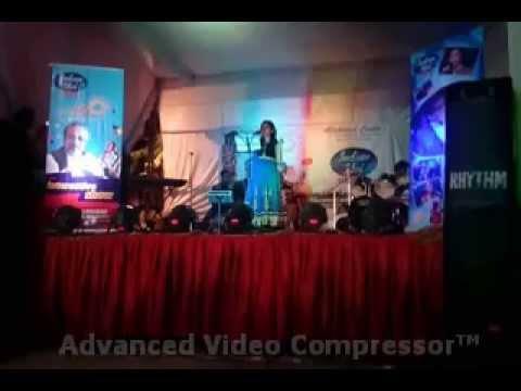 indian idol academy allahabad @ durga pooja civil lines Performance by Preeti