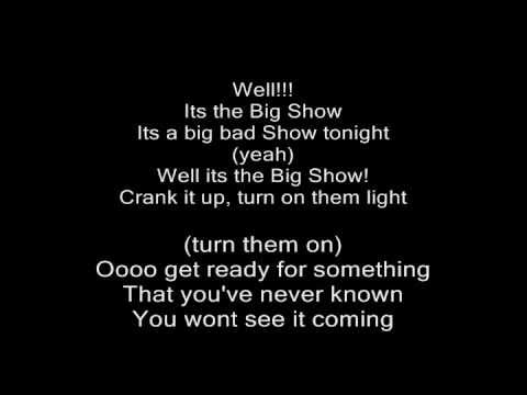 big show theme song crank it up with lyrics youtube. Black Bedroom Furniture Sets. Home Design Ideas