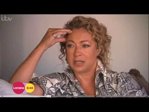 Alex Kingston on Lorraine ITV