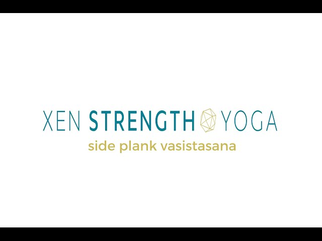 Side Plank Instruction (Vasistasana)