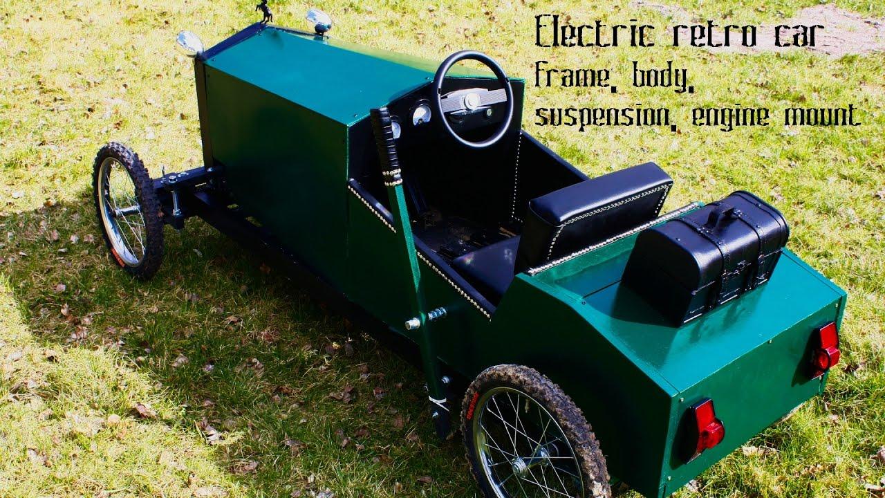 Детский электромобиль своими руками проект