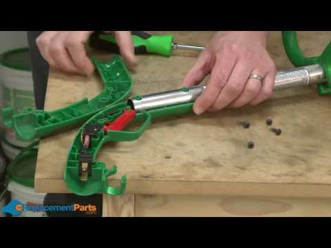 How to Replace the Handle Set on a Weed Eater SG11 String Trimmer (Part # 530054809)