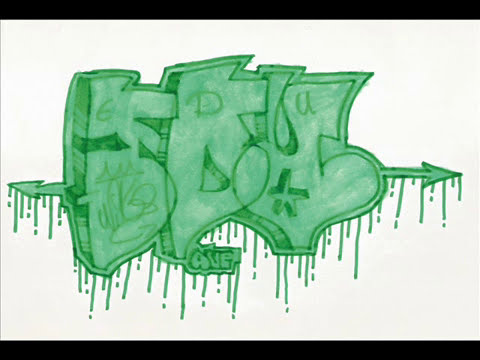 graffitis en papel-Esok