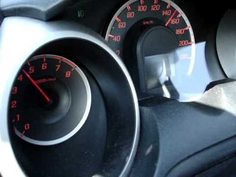 Honda Fit - Jazz top speed  0- 190 km/h 5700 rpm.-