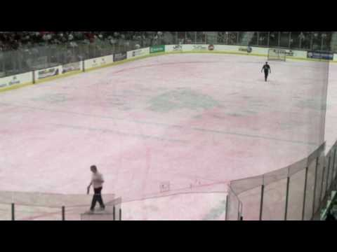 Lake Erie Monsters Pink Ice - Time Lapse Video