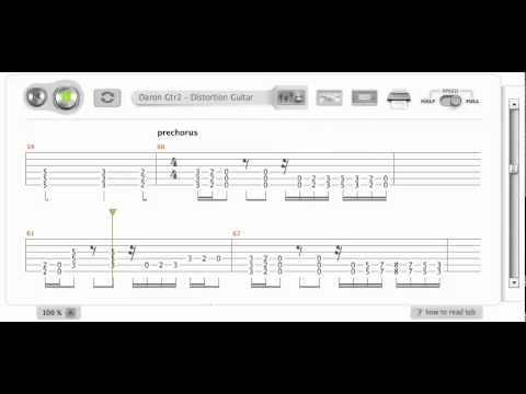 System of A Down B.Y.O.B. Guitar Lesson Tab