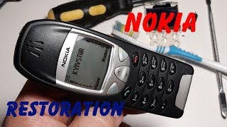 Vintage Nokia 6210 - Impressive Restoration Old Retro Phone | Restoring Broken Cell Phone