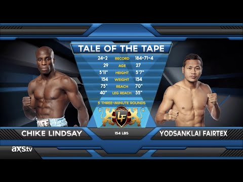 The Living Legend Yodsanklai Fairtex at Lion Fight 10  Fight of the Week