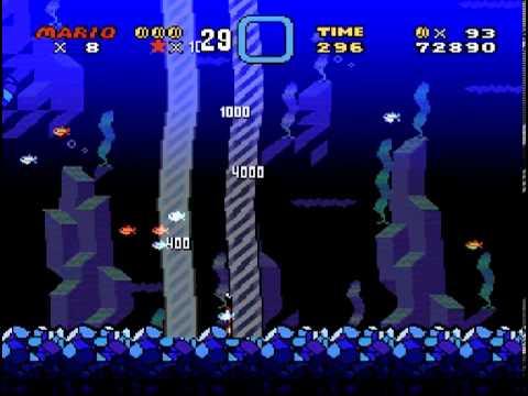 Brutal Mario (demo 7) - pacman1755 plays: Brutal Mario (SNES) - World 1 - User video