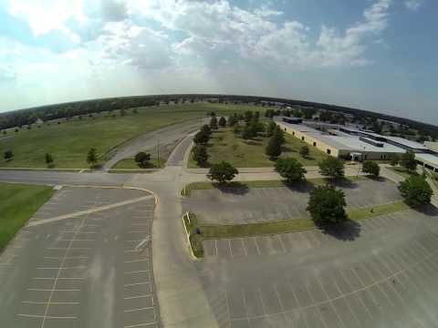 More Flying around Northwest High School Wichita, KS