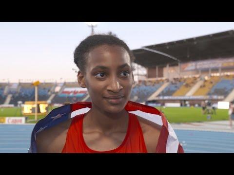 IAAF WU20 Championships Bydgoszcz 2016 800m Women Final Gold Samantha WATSON USA