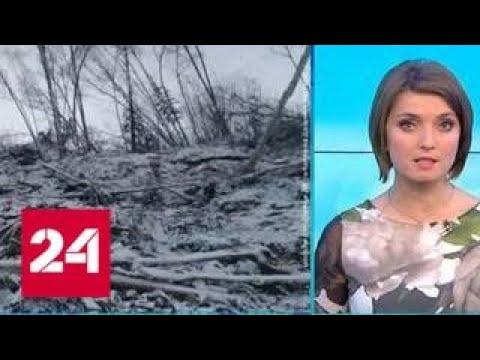 Упавший метеорит мог перекрыть русло одной из рек на Дальнем Востоке - Россия 24