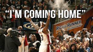 """Download Lagu LeBron James - """"I'm Coming Home"""" ᴴᴰ Gratis STAFABAND"""