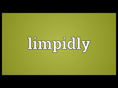 Header of limpidly