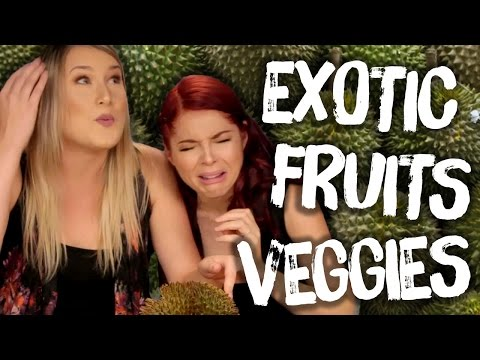 DURIAN and Other Exotic Fruits & Veggies (Cheat Day)