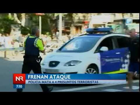 4 terroristas fueron abatidos cuando intentaban atacar el paseo marítimo de Casteldefels