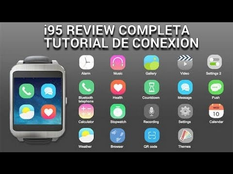 Pack de Apps - Juegos - i95 - Smartwatch Con Android! - Reloj Super Económico - Review Completa