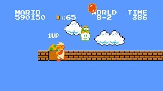 """Super Mario Bros. """"all items"""" TAS in 19:50.04 by Mars608, chatterbox & HappyLee"""