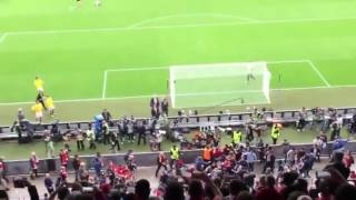 Hooligan riot - Liverpool vs. Sevilla (Europa League Final | 18/05/16)