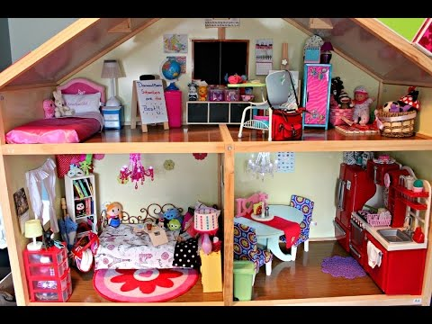 Huge American Girl Doll House Tour!!! Updated 2015