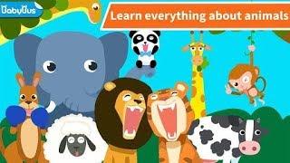Trò chơi nuôi thú thiên đường động vật vui nhộn kanguru khủng long voi Animal Paradise game kid
