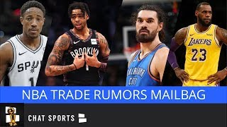 NBA Trade Rumors Mailbag: DeMar DeRozan, D'Angelo Russell, Steven Adams & Lakers Dealing LeBron?